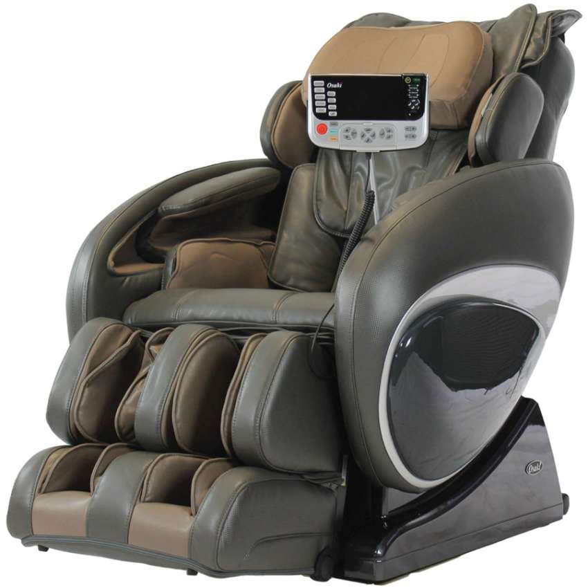 Brand New Osaki OS-4000T Zero Gravity Massage Chair, Charcoal, Compute