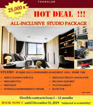 EXCLUSIVE APARTMENT FOR RENT Best in Thonglor