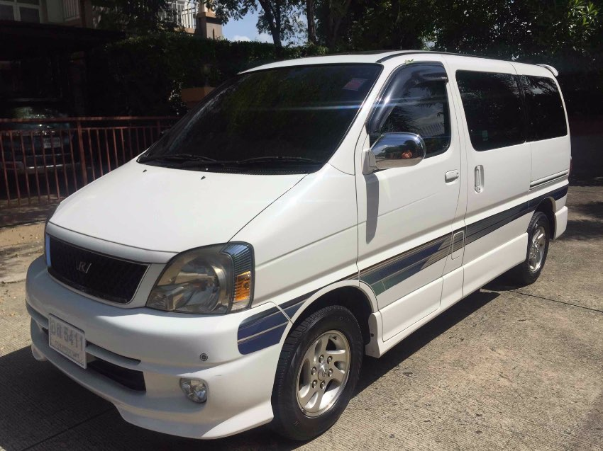 TOYOTA VAN REGIUS 2,7, AT, 8 SEATS, WHITE COLOR MAKE OFFER