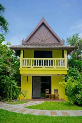 Sells Property 2400sqm with Bungalows and House at Nai Yang  PHUKET