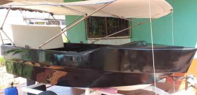 Very strong fiberglass boat / very cheap for quick sale !!!