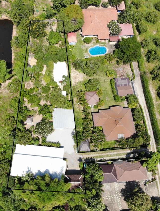 REDUCED to 4.99 million - House on over 1.15 Rai of Organic Land