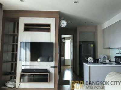 The Address Asoke Luxury Condo High Floor 2 Bedroom Corner Flat Rent
