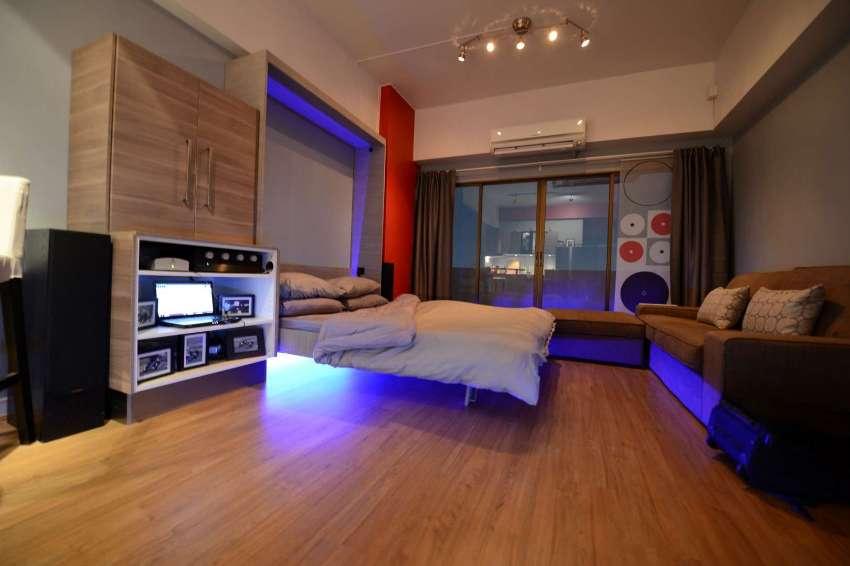 Modern Bangkok Condo 2 min to BTS fully renovated with great views
