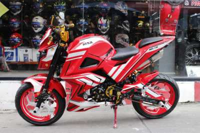 Honda MSX 125 cc Racing