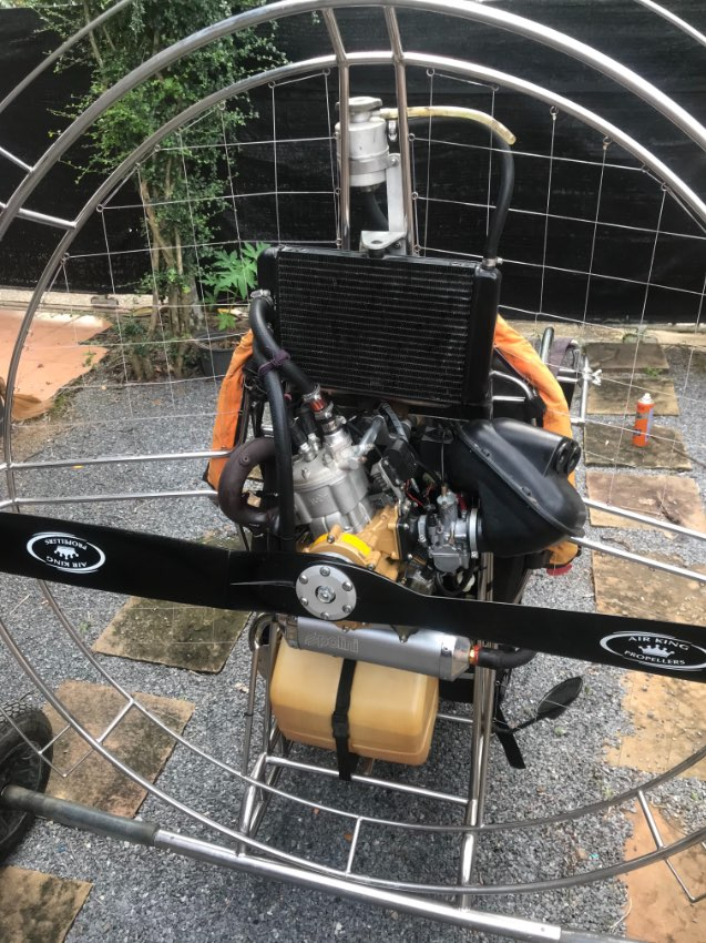 Paramotor Trike and Wing for sale
