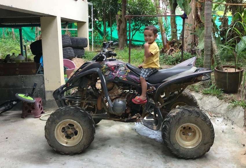ATV Yamaha raptor 350