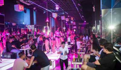 a A-GoGo in Walking Street Pattaya for Take Over