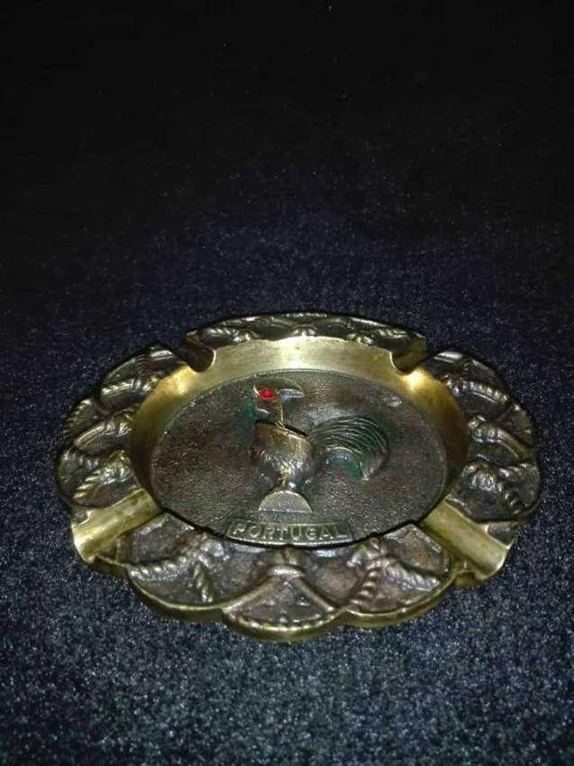 SOLD!!! Portugal Brass Cigar Ashtray