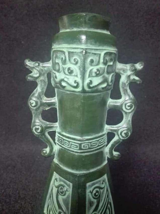 SOLD!!! Vintage vase copper casting beast