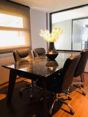Office For Rent with En-Suite Toilet Baht 12,000 Per Month
