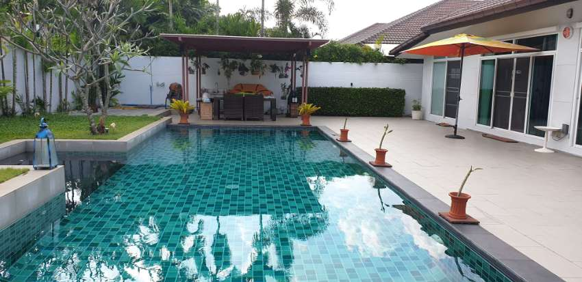 POOL VILLA BUILT IN 2014 IN GATED VILLAGE COMMUNITY W. MANY AMENITIES