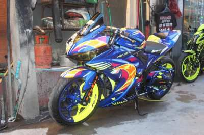 Yamaha YZF-R3 Two Tone Colours