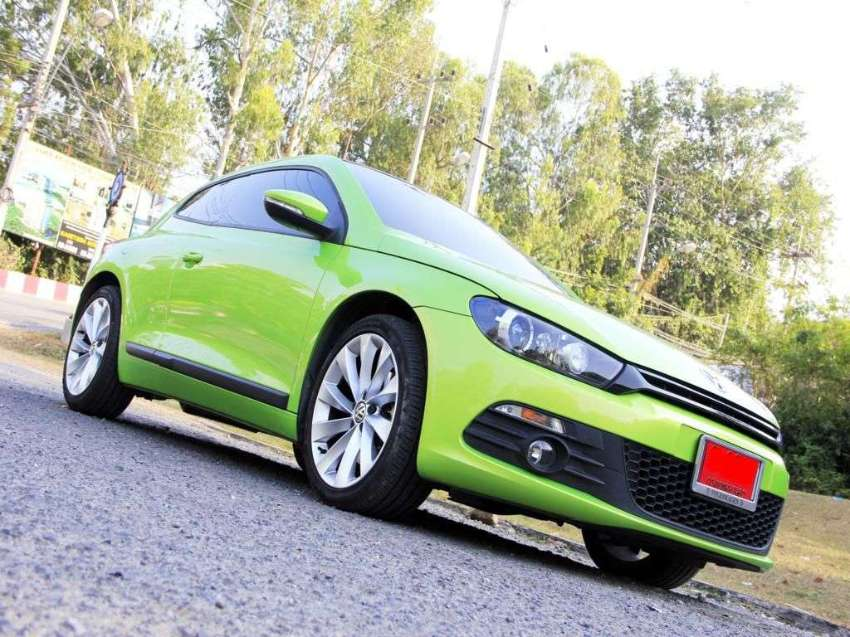 Volkswagen Scirocco 2,0 TSI Highline; swap/exchange
