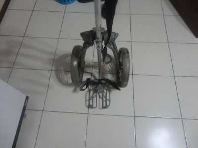 Bag boy pull cart in good condition
