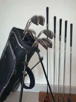 A Full Set of Men's Ping Eye 2 Golf Clubs & Bag
