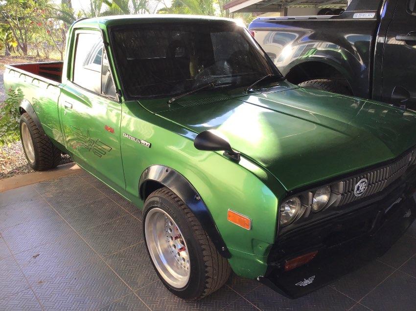 Custom Nice Datsun Pickup 1977 with 170Hp engine