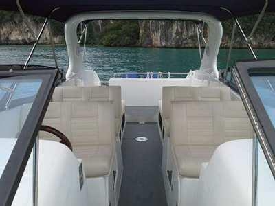 SEAT SB381, Fiberglass, 39ft, Engines Mercury 2x300hp