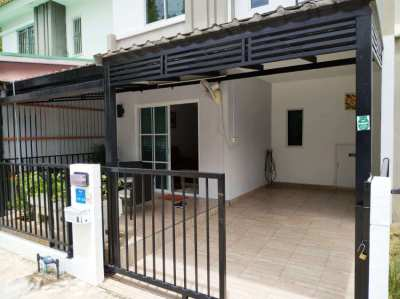2 Storey Townhouse at Pruksa, Soi Khao Noi