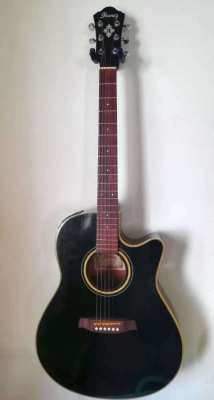 Ibanez AEF20-BK-OP-01 Acoustic 6 string guitar