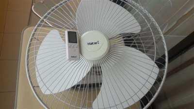 "HATARI 18"" rotating ceiling fan & RC"