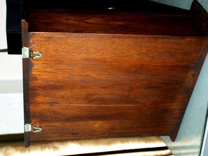 Decorative Wood Key Box Elephant Panel And Weaved Door Holds 9 Keys