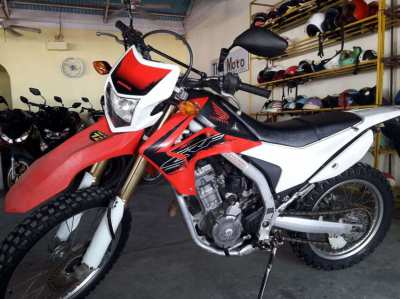 Honda CRF 250L 2013 in a good condition