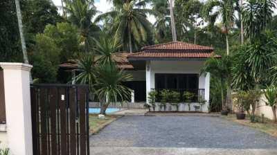 2 Bed private pool villa for sale