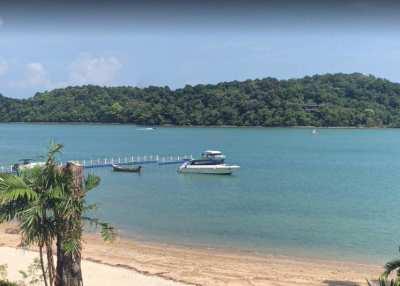 Beach Front Land For Sale 4 Rai 3 Ngan, Po Bay, Phuket.