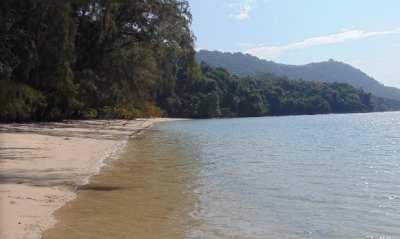 Beach Front Land For Sale 99 Rai, Koh Yao Yai, Phang nga.
