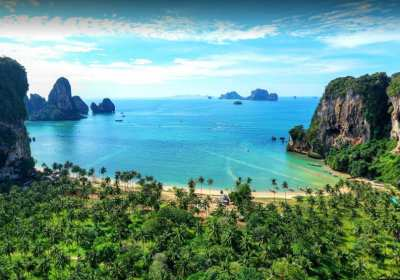 Beach Front Land For Sale 58 Rai, Phra Nang Bay, Krabi.