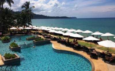 Selling 5 star hotel, 150 rooms, Khao Lak Beach, Phang Nga.