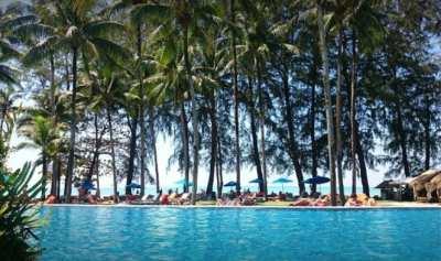 Hotel for sale 160 rooms, Bangsak beach,Takua Pa, Phang Nga.