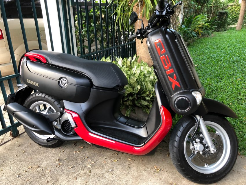 2018 QBix 125i - Only 8,000 km New