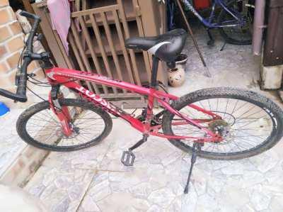 X2 Mascot mountain bikes M118, Shimano Tourney TZ 21SP   gear,