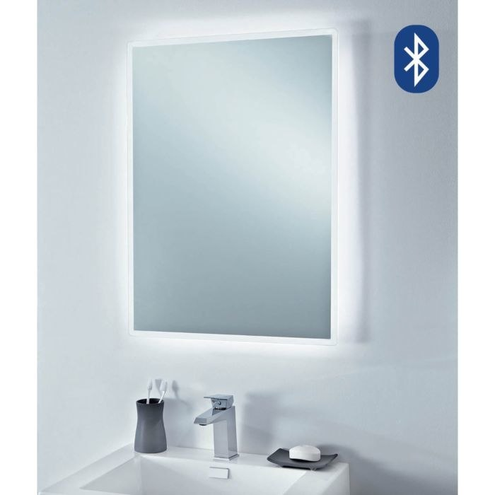 LED MIRROR WITH BLUETOOTH SPEAKERS
