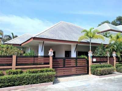 New Villa in Baan Dusit Pattaya Park for sale (European style)