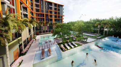 Rare Opportunity 2 Bedrooms condo in Hua Hin city price under 4 MB!