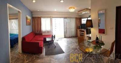 Saranjai Mansion Condo Spacious and High Floor 1 Bedroom Unit Flat