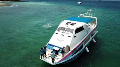 50Ft. Glass bottom boat for sale