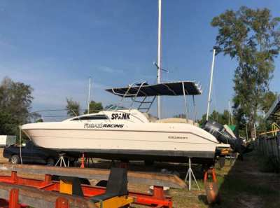 2013 Silvercraft 33SC with twin Yamaha 250HP