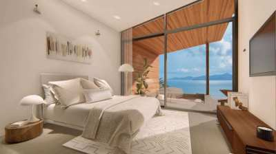 Santi Peak Villas - Affordable Sea View Villas for SALE at Koh Samui