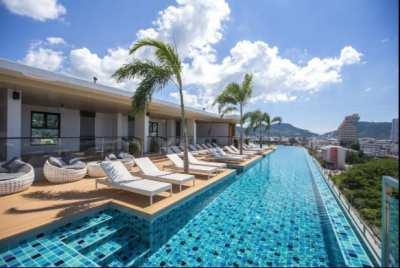 Selling hotel, 205 rooms, Patongcity, Phuket.