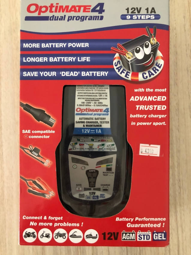 OPITMATE BATTERY CHARGER