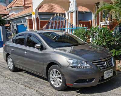 NICE NISSAN SYLPHY - ONLY 54 800 KM - FAIR OFFERS CAN BE CONSIDERED