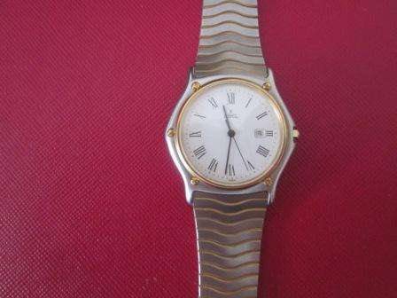 REDUCED ! Ebel Clasic Wave 181909 - Stainless Steel / 18 K Gold