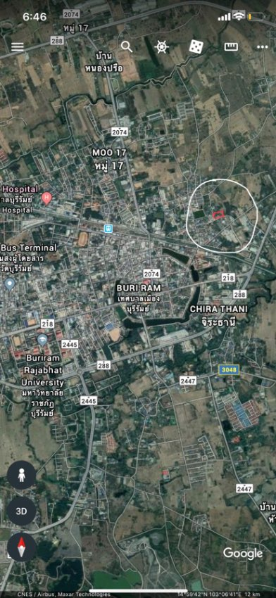 Land For Sale Buriram City