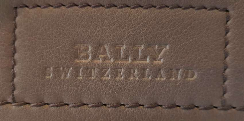 BALLY - Mens cross body bag, grey, leather, limited edition