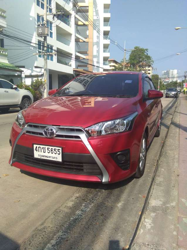 TOYOTA YARIS, 33000 KM, YEAR 2015, EXCELLENT CONDITION