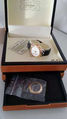 Glashütte Senator Chronograph in RG LIMITED EDITION ONLY 25 PIECES NEW